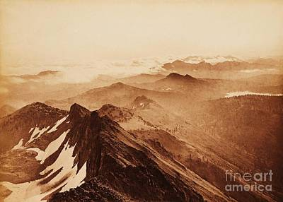 Photograph - Summit Of The Sierras by Pg Reproductions