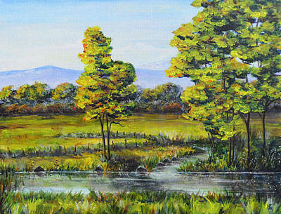 Painting - Sumner Autumn by Shirley Heyn