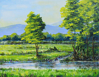 Painting - Sumner Summer by Shirley Heyn