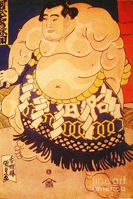 Painting - Sumo Wrestler by Roberto Prusso