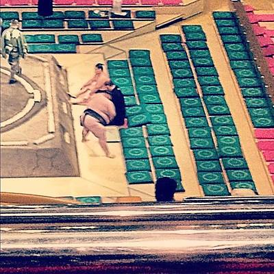 Wrestling Wall Art - Photograph - Sumo Wrestling by Logan Mcpherson