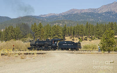 Photograph - Sumpter Valley Railroad by Tim Mulina