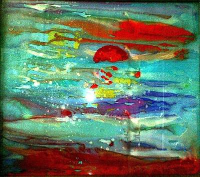Painting - Sun And Sea.. by Rooma Mehra
