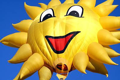 Sun Balloon Art Print