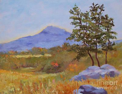 Mt. Monadnock Painting - Sun Bathed Monadnock by Alicia Drakiotes