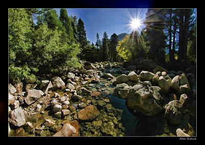 Photograph - Sun Clear River by Blake Richards