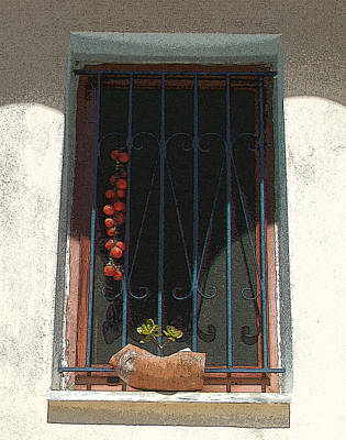 Photograph - Sun-dried Tomatoes - Tomates Secados Al Sol  by Rezzan Erguvan-Onal