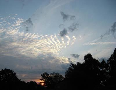 Photograph - Sun Going Down by Roberta Martin
