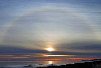 Photograph - Sun Halo by Marie Morrisroe
