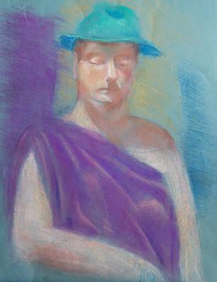 Sun Hat Art Print by Joanna Gates