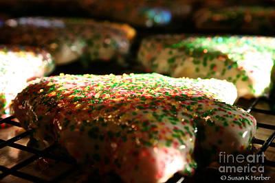 Sun Kissed Christmas Cookies Art Print