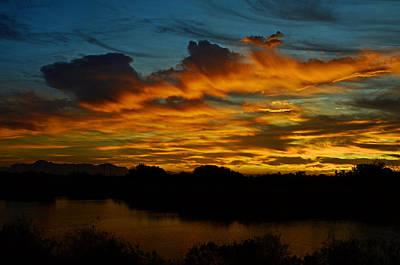 Photograph - Sun Kissed Sky  by Saija  Lehtonen