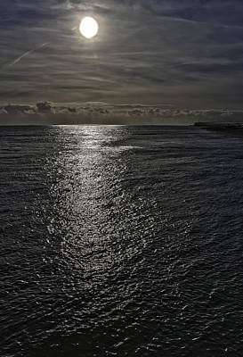 Contre-jour Photograph - Sun Over The Water by Nigel Jones