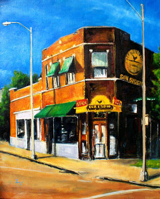 Painting - Sun Studio - Day by Robert Reeves