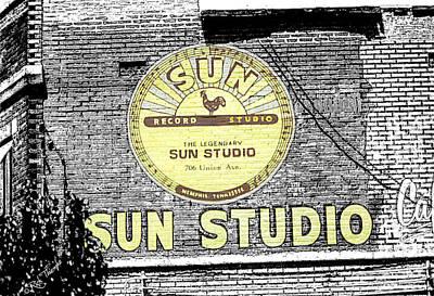 Sun Studios Art Print