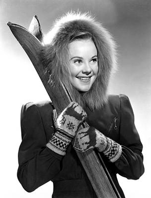 1941 Movies Photograph - Sun Valley Serenade, Sonja Henie, 1941 by Everett