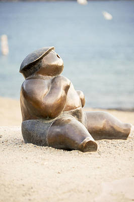 Photograph - Sunbather No.1 by Marina Garrison