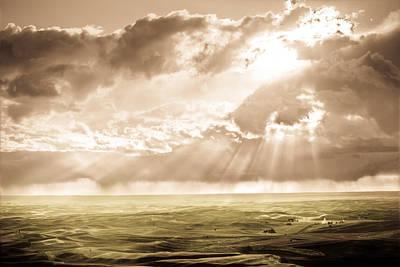 Photograph - Sunburst by Niels Nielsen