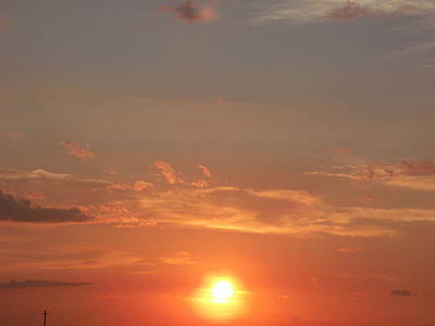 Sunburst Orange Sunset Original