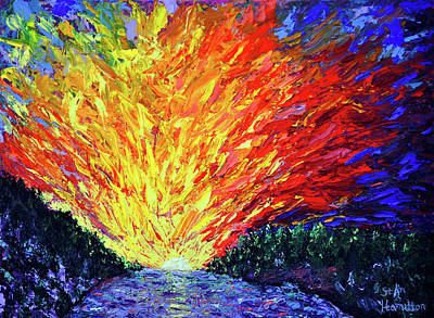 Painting - The Second Coming  by Stan Hamilton