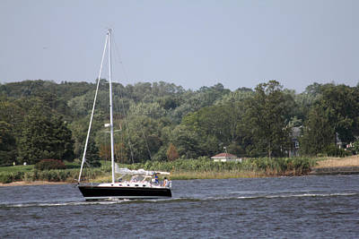 Photograph - Sunday Afternoon Sail by Mary Haber