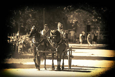 Photograph - Sunday Buggy Ride by Richard Lee