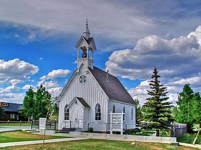 Photograph - Sunday Go To Meeting Church by Ken Smith