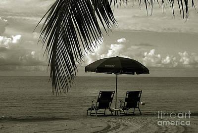Sunday Morning In Key West Print by Susanne Van Hulst