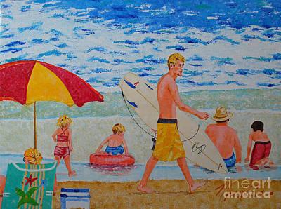 Painting - Sunday Sundays  by Art Mantia