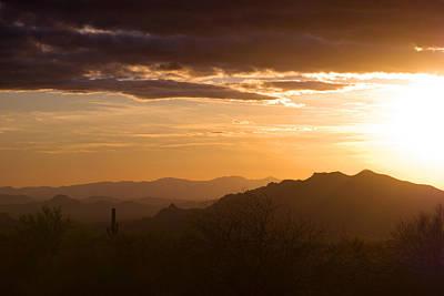 Horse Back Riding Photograph - Sundown by Anthony Citro