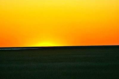 Sundown Art Print by Debbie Sikes