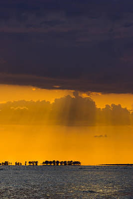 Photograph - Sundown Over Sanibel by Ed Gleichman
