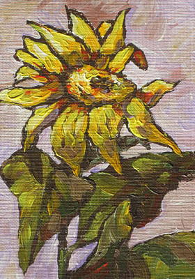 Sunflower Painting - Sunflower 5 by Sandy Tracey