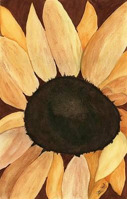 Sunflower Art Print by Joan Zepf