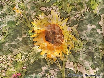 Sunflower Original by Richard  Montemurro