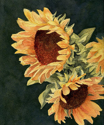 Painting - Sunflower Season by Vikki Bouffard