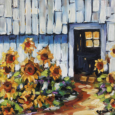 Sunflowers By Prankearts Original