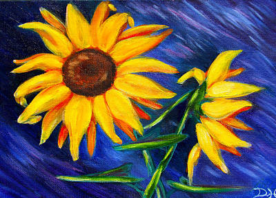 Painting - Sunflowers by Diana Haronis
