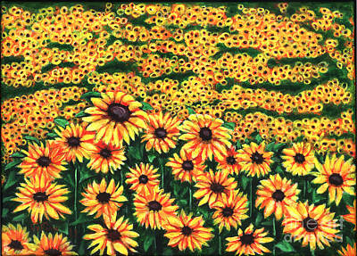 Painting - Sunflowers by Gail Finn