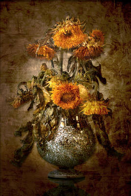Photograph - Sunflowers by Marc Huebner