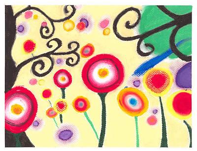 Sunflowers Art Print by Susanna  M