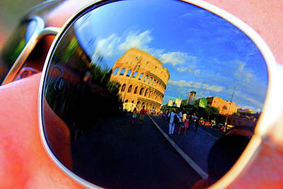 Photograph - Sunglasses Of The Colosseum by Alessandria Iannece