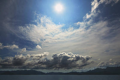 Photograph - Sunlight And Cloud by Afrison Ma