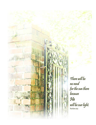 Sun Rays Mixed Media - Sunlight On Brick Wall by Faye Robeson