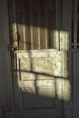 Sunlit Door Photograph - Sunlit Door by Randall Nyhof