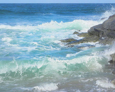 Photograph - Sunlit Sea by Francesa Miller