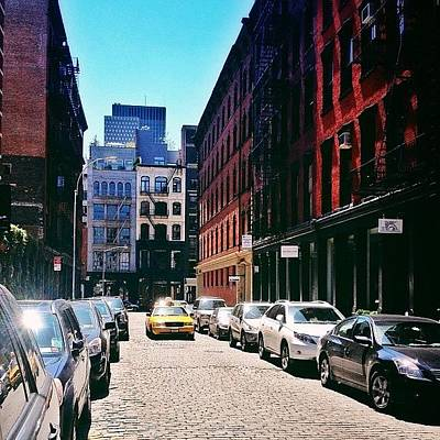 New York City Wall Art - Photograph - Sunlit Soho Street - New York City by Vivienne Gucwa
