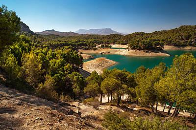 Photograph - Sunny Day In El Chorro. Spain by Jenny Rainbow