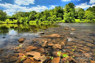 Photograph - Sunny Days At The Youghiogheny  by Adam Jewell
