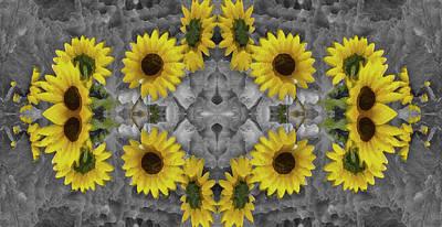 Kaleidoscope Photograph - Sunny Days by Ernie Echols